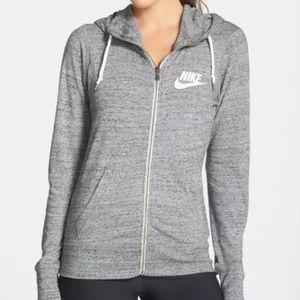 Grey Nike Zip Up